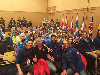 [写真]アメリカ、イギリス、ウクライナチーム