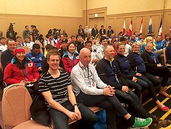 [写真]スウェーデン、韓国、モンゴル、カザフスタンチーム