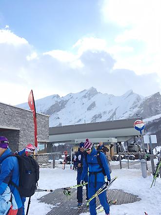 [写真]ピレネー山脈1600mでの大会