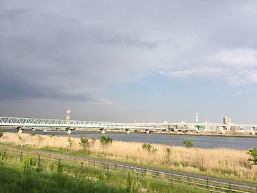 [写真]荒川まで2時間走