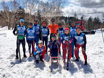 [写真]パラノルディックスキー日本チーム集合写真