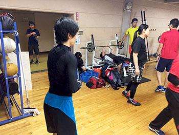 [写真]トレーニングジム