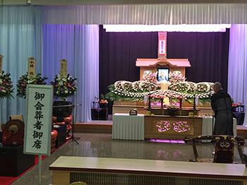 [写真]大和田司先生の告別式