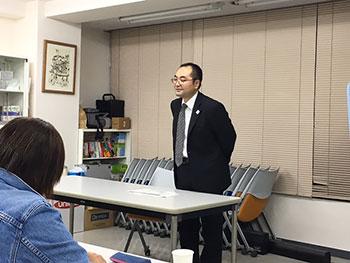 [写真]スポーツ庁障がい者スポーツ振興室 室長の田中様