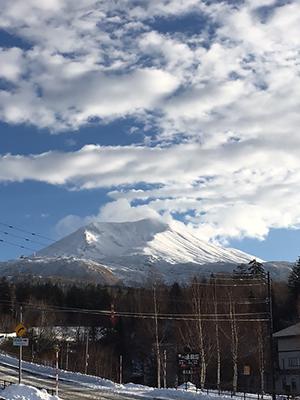 [写真]朝の旭岳