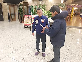 [写真]瀧澤ヘッドコーチ