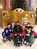 [写真]水野慎一さんと新田佳浩選手、新田のんの選手