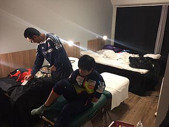 [写真]トレーナーの笹代さん