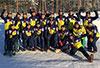 [写真]パラノルディックスキー日本チームの集合写真