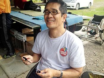 [写真]網走のジュニア教室が楽しみの長田コーチ