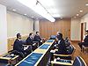 [写真]組織委員会が旭川市長を表敬訪問
