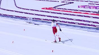 [写真]ソチパラリンピック クロスカントリー・クラシック15km阿部友里香選手