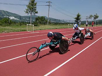 [写真]スピードトレーニングの様子
