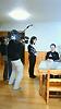 [写真]NHKの取材を受ける久保恒造