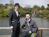 [写真]佐藤圭一選手と久保恒造