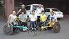 [写真]車いすマラソンブロック強化合宿の参加メンバーと