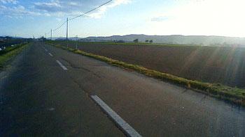 [写真]農道