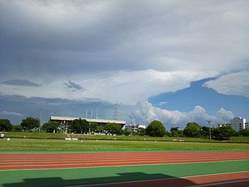 [写真]競技場