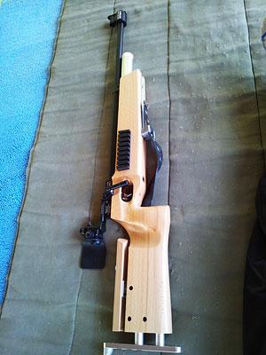 [写真]新しいライフル
