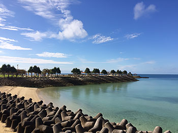 [写真]沖縄の海