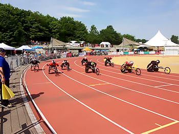 [写真]「2016IPCグランプリ ノットビル(スイス)大会」トラック競技