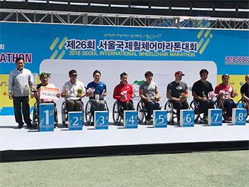 [写真]ソウルマラソン表彰式