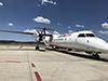 [写真]キャンベラ空港に到着写真