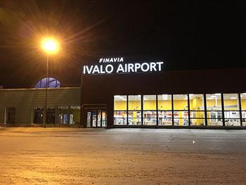 [写真]フィンランド最北の空港 Ivalo Airport