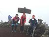 [写真]岩手山山頂にて