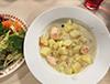 [写真]じゃが芋サーモンスープ