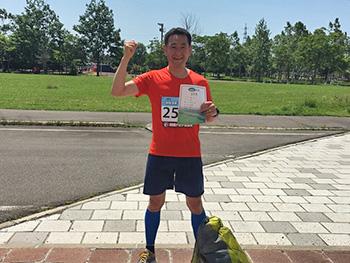 [写真]AOMORIマラソン大会に参加しました