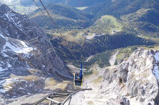 [写真]ダッハシュタイン山からの眺め