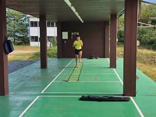 [写真]射撃トレーニングの様子