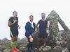 [写真]岩木山山頂にて