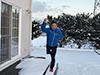 [写真]11.23自宅前平野部でもついに積雪