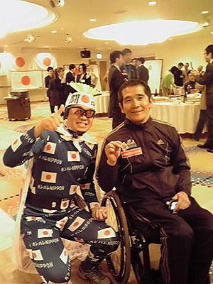 [写真]ニッポンマンと長田弘幸