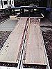 [写真]卓球台を利用したスロープ