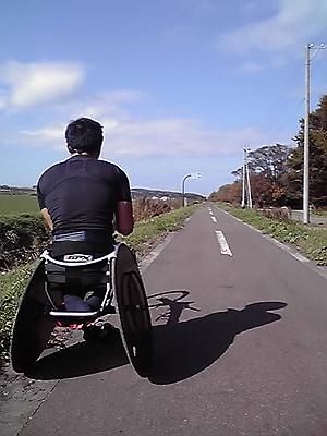 [写真]サイクリングロード