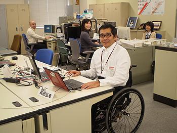 [写真]北海道総務グループの皆さんと