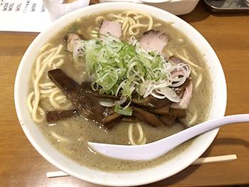 [写真]「西中華そば店」さんの煮干しラーメン