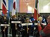 [写真]大会の開会式の様子