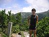 [写真]中丸山山頂の新田佳浩
