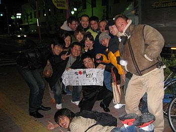 [写真]新田佳浩とスポーツクラブの仲間たち