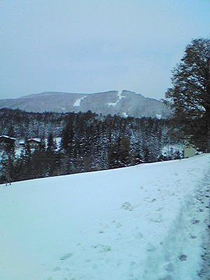 [写真]ラムサウの雪景色
