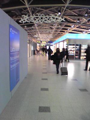[写真]ヘルシンキ空港