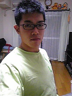 [写真]髪を切った新田佳浩選手