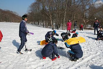 [写真]雪合戦