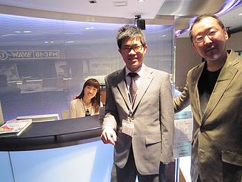 [写真]新田佳浩、竹内薫さんと小林まどかさん