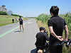 [写真]河川敷でのトレーニング撮影の様子