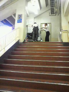 [写真]階段昇降機